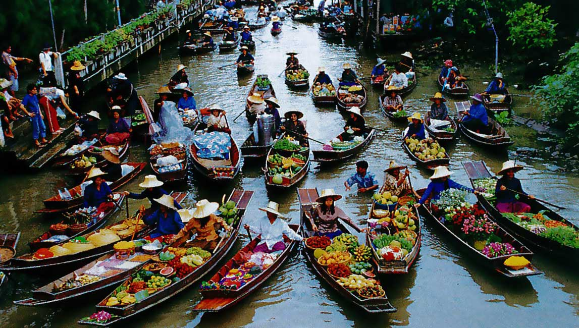 Bangkok Day Tour Floating Market